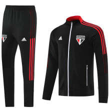 2021/22 Sao Paulo Black Jacket Tracksuit
