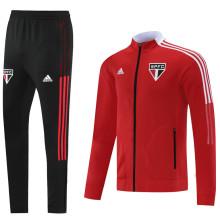 2021/22 Sao Paulo Red Jacket Tracksuit