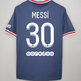 MESSI #30 PSG Home 1:1 Fans Soccer Jersey 2021/22