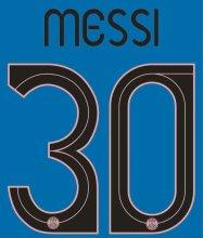 2021/22 MESSI #30 PSG Away UCL Verseion Fonts 客场欧冠字体