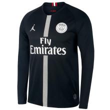 2018/19 PSG JD Black Long Sleeve Soccer Jersey