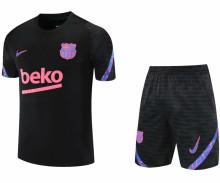 2021/22 BA Black Short Training Jersey(A Set)拉链口袋