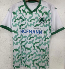 2021/22 SpVgg Greuther Fürth Home Green White Fans Soccer Jersey