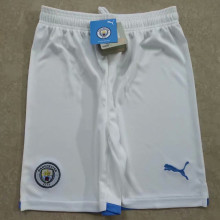 2021/22 Man City White Shorts Pants