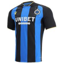 2021/22 Club Brugge KV Home Blue Black Fans Soccer Jersey