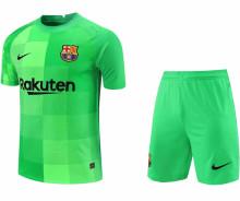 2021/22 BA Green GK Soccer Jersey(A Set)(Pants Have Number)裤有号码