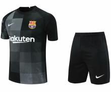 2021/22 BA Black GK Soccer Jersey(A Set)(Pants Have Number)裤有号码