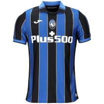 2021/22 Atalanta Home Blue Black Fans Soccer Jersey