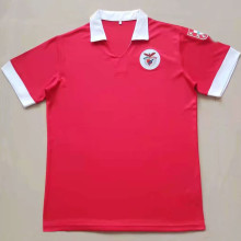 1961 Ben-fica Home Red Retro Soccer Jersey