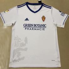 2021/22 Zaragoza Home White Fans Soccer Jersey
