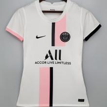 2021/22 PSG Away White Women Soccer Jersey