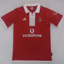 2004/2005 Ben-fica Home Red Retro Soccer Jersey