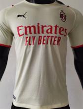 2021/22 AC Milan Away Player Version Soccer Jersey