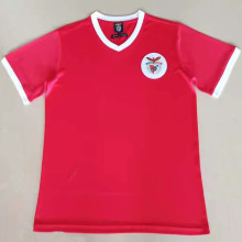 1974-1975 Ben-fica Home Red Retro Soccer Jersey