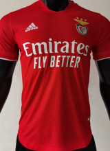 2021/22 Benfica Home Red Player Soccer Jerseys