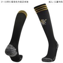 2021/22 BFC Away Black Sock