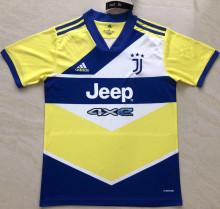 2021/22 JUV Third Yellow Blue Fans Soccer Jersey