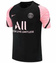 2021/22 PSG Black Pink Short Training Jersey
