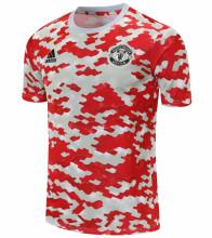2021/22 M Utd Red White Short Training Jersey