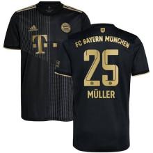 Müller #9 BFC 1:1 lack Fans Soccer Jersey 2021/22
