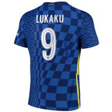 LUKAKU #9 CFC 1:1 Quality Home Fans Jersey 2021/22(UCL Font 欧冠字体)