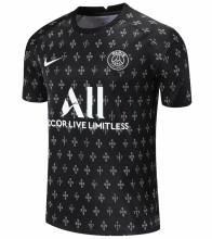 2021/22 PSG Black Short Training Jersey