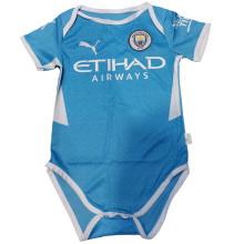 2021/22 Man City Home Blue Baby Suit