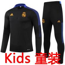 2021/22 RM Black Kids Sweater Tracksuit