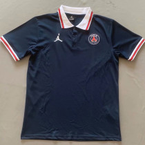 2021/22 PSG Blue Polo Short Jersey