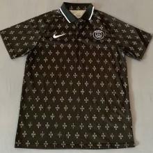 2021/22 PSG Black Polo Short Jersey