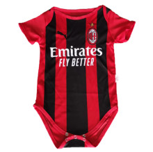 2021/22 AC Home Red Blac Baby Suit