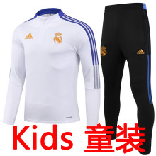 2021/22 RM White Kids Sweater Tracksuit