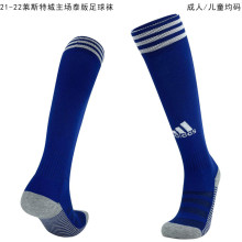 2021/22 Leicester Home Blue Sock
