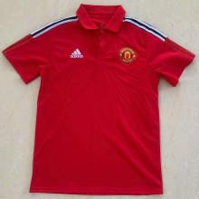 2021/22 Man Utd Red Polo Short Jersey