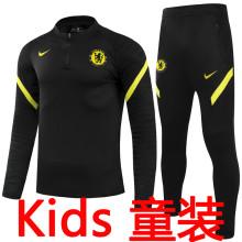 2021/22 CFC Black Kids Sweater Tracksuit