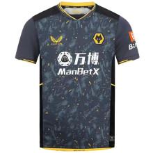 2021/22 Wolves Away Black Fans Soccer Jersey