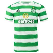 2021/22 Celtic Home White Green Fans Soccer Jersey