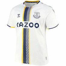 2021/22 Everton Away White Fans Soccer Jersey
