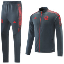 2021/22 Flamengo Grey Jacket Tracksuit