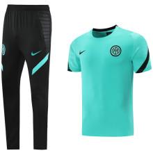2021/22 In Milan Green Training Tracksuit (LH 长裤套装)