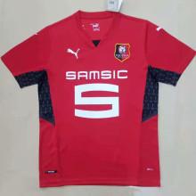 2021/22 Rennais Home Red Fans Soccer Jersey