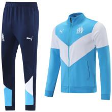 2021/22 Marseille Sky Blue Jacket Suit
