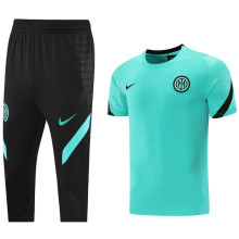2021/22 In Milan Green Training Short Tracksuit (LH 短裤套装)