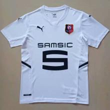 2021/22 Rennais Away White Fans Soccer Jersey