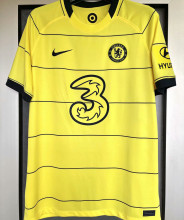 2021/22 CFC Away 1:1 Quality Yellow Fans Soccer Jersey