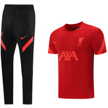 2021/22 LFC Red Training Tracksuit (LH 长裤套装)