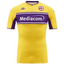 2021/22 Fiorentina Third Yellow Fans Soccer Jersey