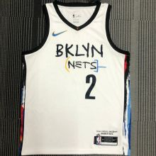 2021 Nets GRIFFIN #2 City Edition White NBA Jerseys Hot Pressed