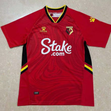 2021/22 Watford Away Red Fans Soccer Jersey
