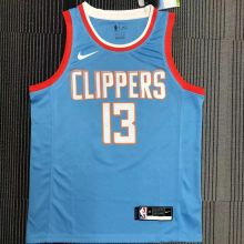 Clippers GEORGE #13 NBA Jerseys Hot Pressed